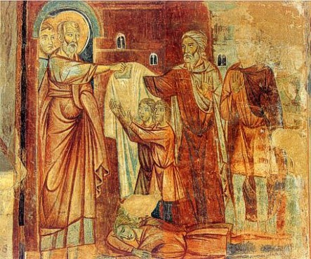 Corso di Buono, La resurrezione dei fanciulli morti (1284)  dans immagini sacre sanlorenzo_corsodibuono2